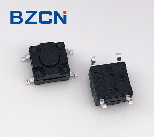 Plastic Button Waterproof Tactile Switch Surface Mount PC Board Design